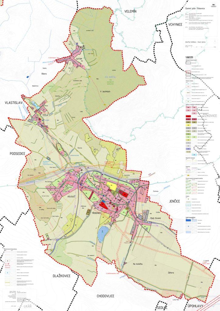 Územní plán města Třebenice