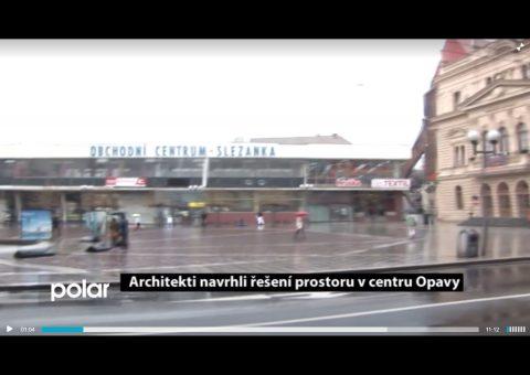 """rozhovor pro TV Polar, pořad """"HOST DNE"""", téma: Řešení prostoru v centru Opavy"""
