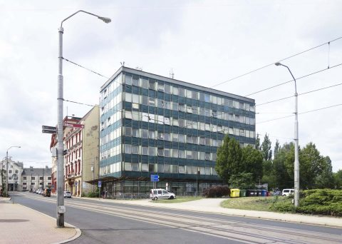 Revitalizace administrativní budovy URAN v Liberci