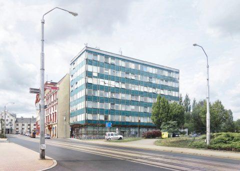 """1.místo ve vyzvané architektonické soutěži: """"URAN – revitalizace fasády"""""""