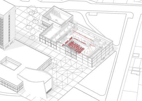 Kulturní a administrativní budova v Neratovicích