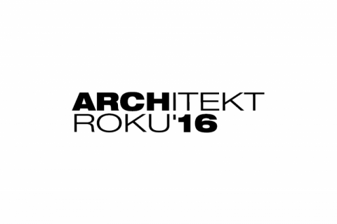 Nomination for the award Architekt roku 2016 (Architect of the Year 2016)