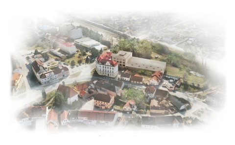 Řešení přístavby školy a novostavby sportovní haly