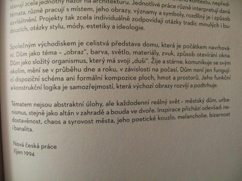 antologie Česká a slovenská architektura 1971-2011, Eds. Jiří Ševčík, Monika Mitášová