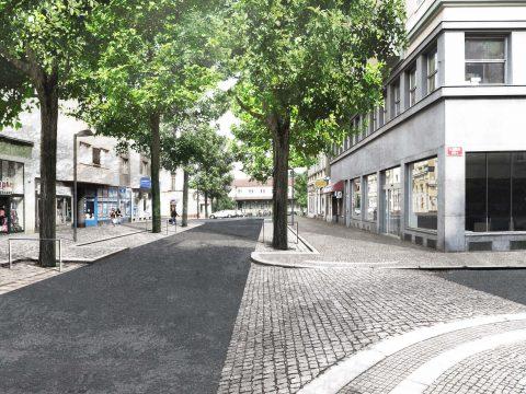 Obnova historické městské části Děčín – Podmokly