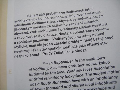 "magazine ERA21 1/2011, text ""What about a Czech Small Town?"""