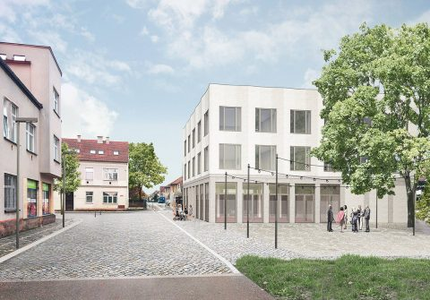 Radnice města Lázně Bělohrad