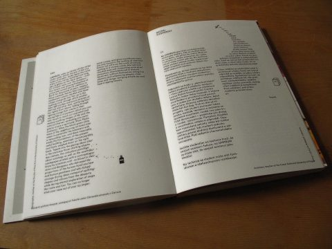 text for the catalog and the exhibition UMPRUM ATTACK