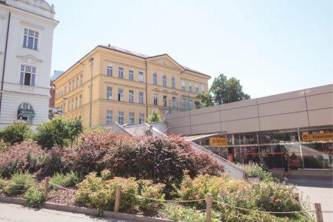Rozšíření budovy Anglického gymnázia v Praze