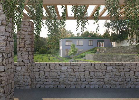 """1.místo ve vyzvané architektonické soutěži: """"CENTRUM STATENICE"""""""