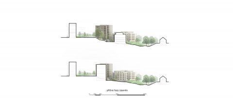 Výstavba bytového komplexu Andromeda